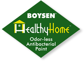 Boysen HealthyHome™: Odorless Anti-Bacterial Paint